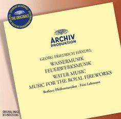 HANDEL Wassermusik Feuerwerk - Lehmann - Deutsche Grammophon