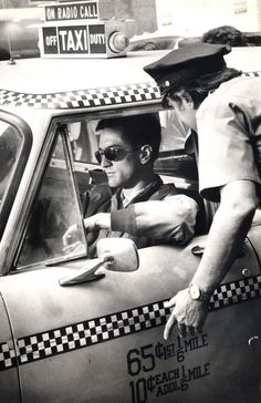 "Robert De Niro as Travis Bickle""Taxi Driver"" (1976)"