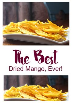 We've been using our dehydrator so much and I wanted to share some tips on how to get the best dried mango, ever! Super simple too!