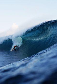 #swell #tube #surf Photo: Domenic Mosqueira