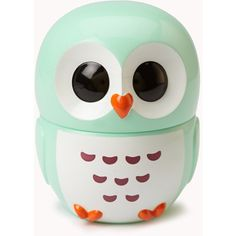 FOREVER 21 Owl Lip Balm.  Comes in mint, watermelon and coconut flavors.  Unfortunately, these are sold out.