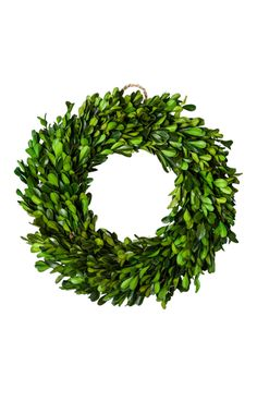 Boxwood Wreath, $20