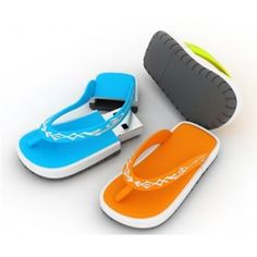 Flip flops USB