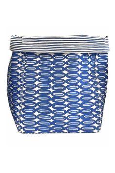 See Design See Design Storage Bin Large Rings Blue - KIITOSlife