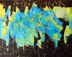 """""""Bipolar"""" - Fernando Gastron - Oleo sobre tela -  80 cm. x 100 cm. - www.esencialismo.com"""