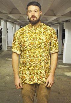 vintage print shirt - £35 ETS clothing