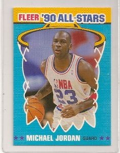 1990-91 Fleer Michael Jordan All-Star Card number 5 of 12. Chicago Bulls. Submit your reviewName: Email: Website: Review Title: Rating: 12345Review:  Check this box to confirm you are human.SubmitCancelCreate your own reviewMichael Jordan 1990-91 Fleer All-Star Basketball CardAverage rating: 0 reviewsPowered by WP Customer Reviews