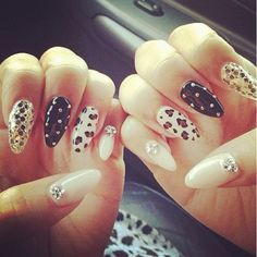 want to try this......pointy nails....
