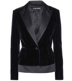 TOM FORD Velvet Blazer. #tomford #cloth #jackets