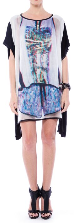 Prints and layers are all you need Spring Summer 2015, Layers, Cover Up, Elegant, Prints, Collection, Black, Dresses, Fashion