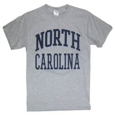 North Carolina T-Shirt (G) : The Shrunken Head Boutique, A Chapel Hill... ❤ liked on Polyvore featuring t-shirts