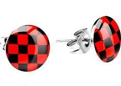 black and red earrings - Google Search