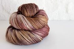 Indie dyed yarn using luxury natural fibres. Yarn Colors, Yarns, Indie, Throw Pillows, Create, Crochet, Handmade, Inspiration, Biblical Inspiration