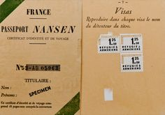 """The Little-Known Passport That Protected 450,000 Refugees Between 1922 and 1938, the """"Nansen Passport"""" allowed stateless people to make a new life."""