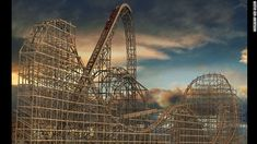 "Banshee at Kings Island makes CNN's list of ""the most insane new U.S. roller coasters""!"
