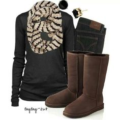 Brown uggs #outfits  ugg boots glitter