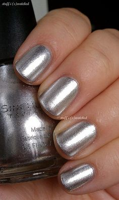 Sinful Colors Simply Silver