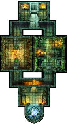 Hall of Fallen Angel - Altar Room