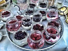 Birthday jars deserts