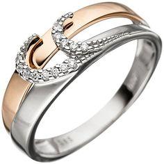 Dreambase Damen-Ring Weißgold mit Rotgold kombiniert 14 K... https://www.amazon.de/dp/B01HSRLF24/?m=A37R2BYHN7XPNV