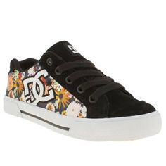 Women s White  amp  Black Dc Shoes Chelsea Se Floral at schuh Floral  Trainers dd5bf632c