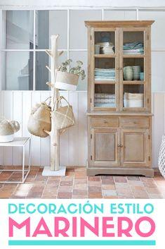 Colección Bord de Mer de Maisons du Monde. #decoracionmarinera #borddemer #decoracion #estiloydeco Decor, Furniture, House, Cabinet, Home Decor, China Cabinet, Storage