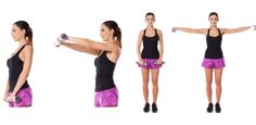 Front lateral raise combo