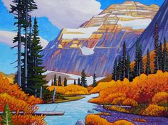 A collection of Paintings by Canadian Painter Nicholas Bott. Seascape Paintings, Cool Paintings, Beautiful Paintings, Acrylic Paintings, Landscape Pictures, Landscape Art, Landscape Paintings, Landscapes, Canadian Painters