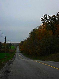Autumn 2014 along Phillipston Road near Plainfield