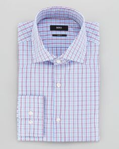 Hugo Boss Check Dress Shirt