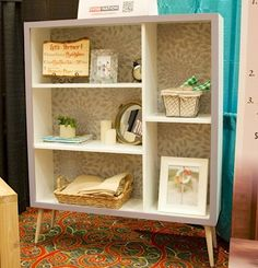 Build a Mid Century Modern Bookshelf for Ryobi Nation | Free and Easy DIY Project and Furniture Plans