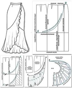 Sensational Tips Sewing Pattern Ideas. Brilliantly Tips Sewing Pattern Ideas. Sewing Hacks, Sewing Tutorials, Sewing Projects, Sewing Tips, Techniques Couture, Sewing Techniques, Skirt Patterns Sewing, Clothing Patterns, Pattern Skirt