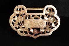 Antique Vintage Chinese Hard Stone Lock