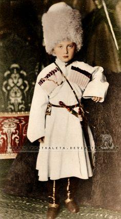 Grand Duke Nicholas Mikhailovich was born on 26 April 1859 at Tsarskoye Selo, the eldest child of the seven children of Grand Duke Michael Nicolaievich of Russia and his wife Grand Duchess Olga Feodorovna, born Princess Cecily of Baden