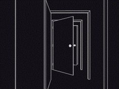 gif trippy Black and White creepy psychedelic door surreal endless open mind Gif Animé, Animated Gif, Trippy Gif, Gif Collection, Cinemagraph, Illusion Art, Animation, Gif Pictures, Aesthetic Gif
