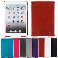Deluxe Slim Clear Hard Back Case Cover For Apple iPad Mini2 With Retina Display