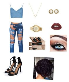 """""""Day Time Look"""" by cham-peter ❤ liked on Polyvore"""