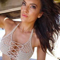 Crochet Bikini Crochet swimsuit Crochet Lace Swimwear