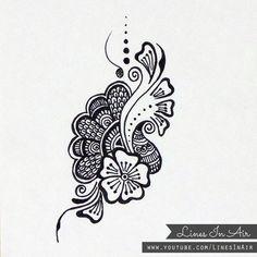 Henna Design/Doodle by LinesInAir on deviantART