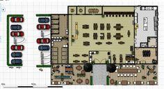 Sushi Patio: Floor Plan