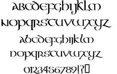 celtic font - Buscar con Google