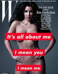 The Silver Art Issue of Top Fashion Model Kim Kardashian This time, the W in W Magazine stands for Wow. The latest issue of W magazine offers Kim Kardashian nude pictures covered in silver p… Kim Kardashian Magazine, Barbara Kruger Art, Fashion Magazine Cover, Magazine Covers, Hollywood, Celebrity Portraits, Culture, Famous Artists, Miley Cyrus