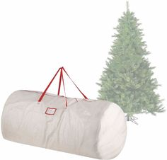 Premium White Holiday Artificial Christmas Tree Storage Bag For 9 Feet Tall