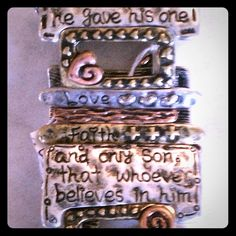 Hope Dream Bracelet - Silver Mix Hope dream bracelet, 2.4 approx. diameter, stretch band, lead compliant, burnish finish. Jewelry Bracelets