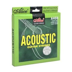 Acoustic Steel Guitar Strings - Alice A408-L