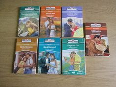 7 x Joanna Mansell Mills & Boon Romance Novels: TITLES: 1. Land of Dragons; 2. B