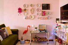 decoracao barata sala pequena apartamento | .blogdomath.com.br