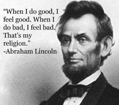 Abraham Lincoln Quote <3