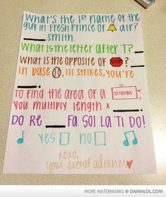 Asking someone out like a boss! (and this is so sweet!!) I don't know how I could say no to this!