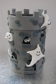 Spooky tower By sasquatch on CakeCentral.com
